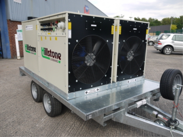 trailer  mounted 1000kw loadbank